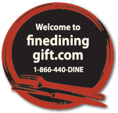 Welcome to finedininggift.com 1-866-440-DINE